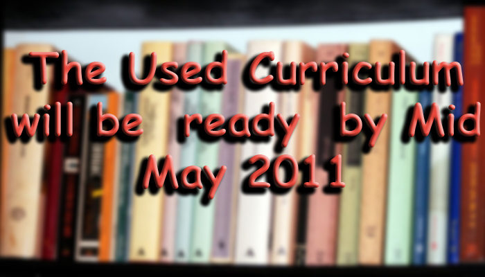 Used Curriculum