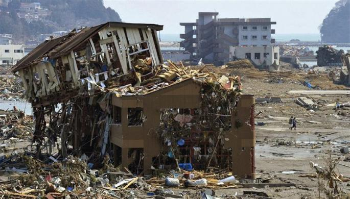 Japan Gets Hit by an Earthquake and a Tsunami