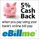 Earn 5% cash back on every order this holiday season.