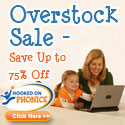 Hooked on Phonics Overstock Sale - Save up to 75%